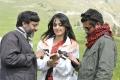 Srinivasa Reddy, Anushka, Raju Sundaram at Damarukam Shooting Spot Stills