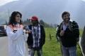 Anushka, Chota K.Naidu, Srinivasa Reddy at Damarukam Shooting Spot Stills