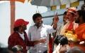 Srinivasa Reddy, Chota K.Naidu at Damarukam Working Stills