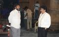 Director Srinivasa Reddy, Achi Reddy at Damarukam Working Stills