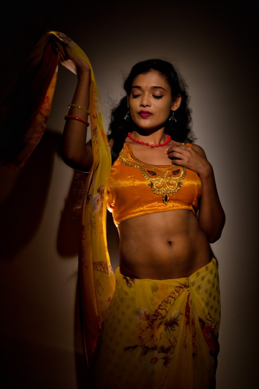 Actress Rekha Boj in Damini Villa Movie Stills