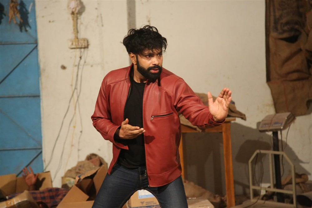 Actor Aditya Om in Damini Villa Movie Stills