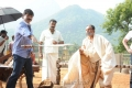 Boyapati Srinu, Nassar at Dammu Latest Working Stills