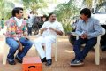 Boyapati Srinu, Alexander Vallabha at Dammu Working Stills