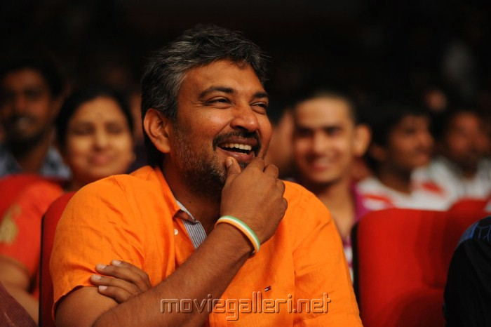 SS Rajamouli at Dammu Movie Audio Release Photos