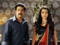 NTR, Trisha in Dammu Movie Latest Photos