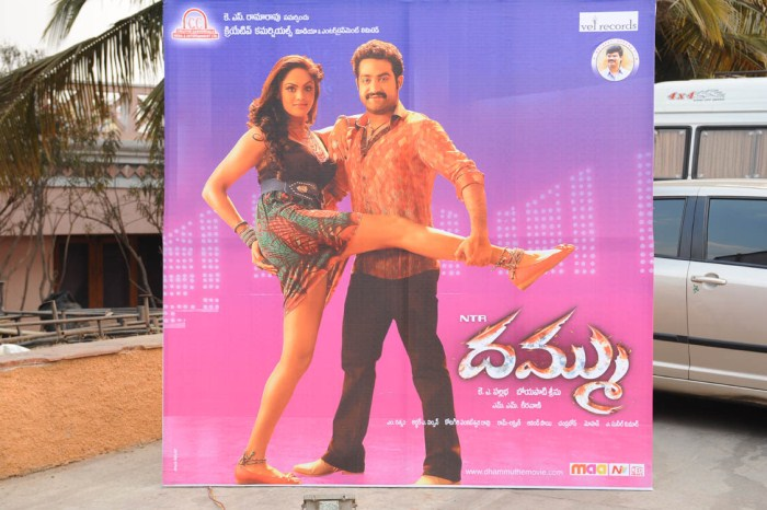 Dammu Telugu Movie Audio Release Posters
