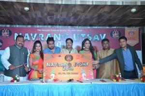 Actress Pooja Sree, Sree Reddy At Dandiya Navrang Utsav 2016 Launch Gallery
