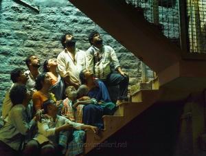 Pooja Gandhi, Raghu Mukherjee, P Ravi Shankar, Makarand Deshpande, Ravi Kale, Sanjana in Dandupalyam 2 Movie Images