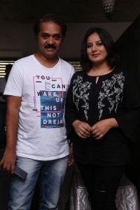 Srinivas Raju, Pooja Gandhi @ Dandupalyam 2 Movie Press Meet Stills