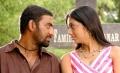 Mahesh Raja, Udhayathara in Dandupalyam Police Telugu Movie Photos