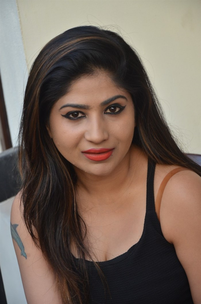 Actress Madhulagna Das @ Danger Love Story Press Meet Stills