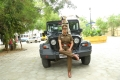 Actress Varalaxmi as Police Officer Kunthavai in Danny Movie Images HD