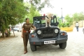 Actress Varalakshmi in Police Getup @ Danny Movie Images HD