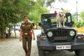 Varalaxmi Sarathkumar as a Police Officer Kunthavai in Danny Movie Images HD
