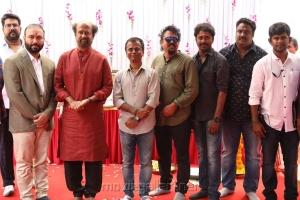 Darbar Movie Pooja Stills