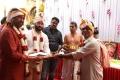 Rajinikanth, Subaskaran, AR Murugadoss @ Darbar Movie Pooja Stills