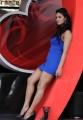 Daruvu Item Girl Hot Photos in Tight Blue Dress