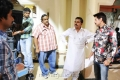 Siva, Sayaji Shinde at Daruvu Movie Working Stills