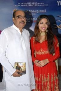 Parvathy Omanakuttan,D.Ramanaidu at David Billa Audio Release Stills