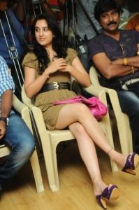 Actress Deekshi at Deal Movie Logo Launch Stills