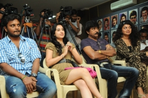 Deekshi, Bhanuchander, Swathika at Deal Movie Logo Launch Stills