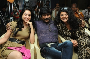 Deekshi, Bhanu Chander, Swathika at Deal Movie Logo Launch Stills