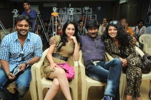 Deekshi, Bhanuchander, Swathi Varma at Deal Movie Logo Launch Stills