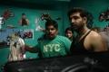 Arun Vijay at Deal Movie Shooting Spot Stills