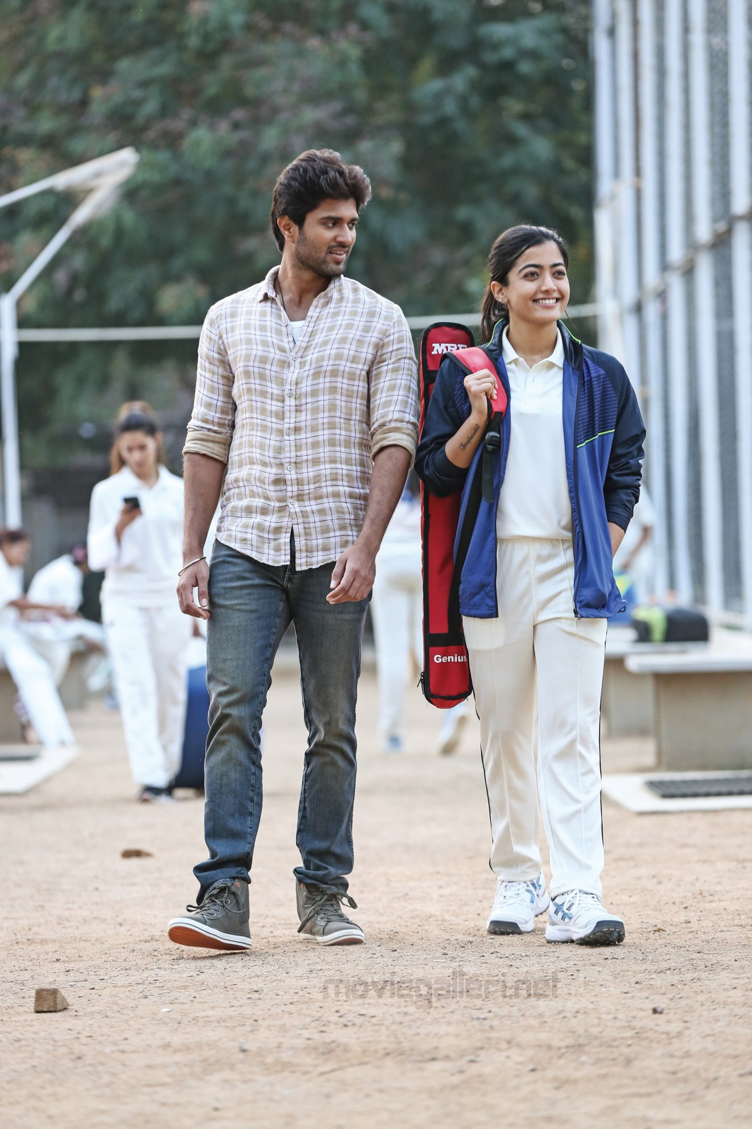 Vijay Devarakonda, Rashmika Mandanna in Dear Comrade Movie Stills