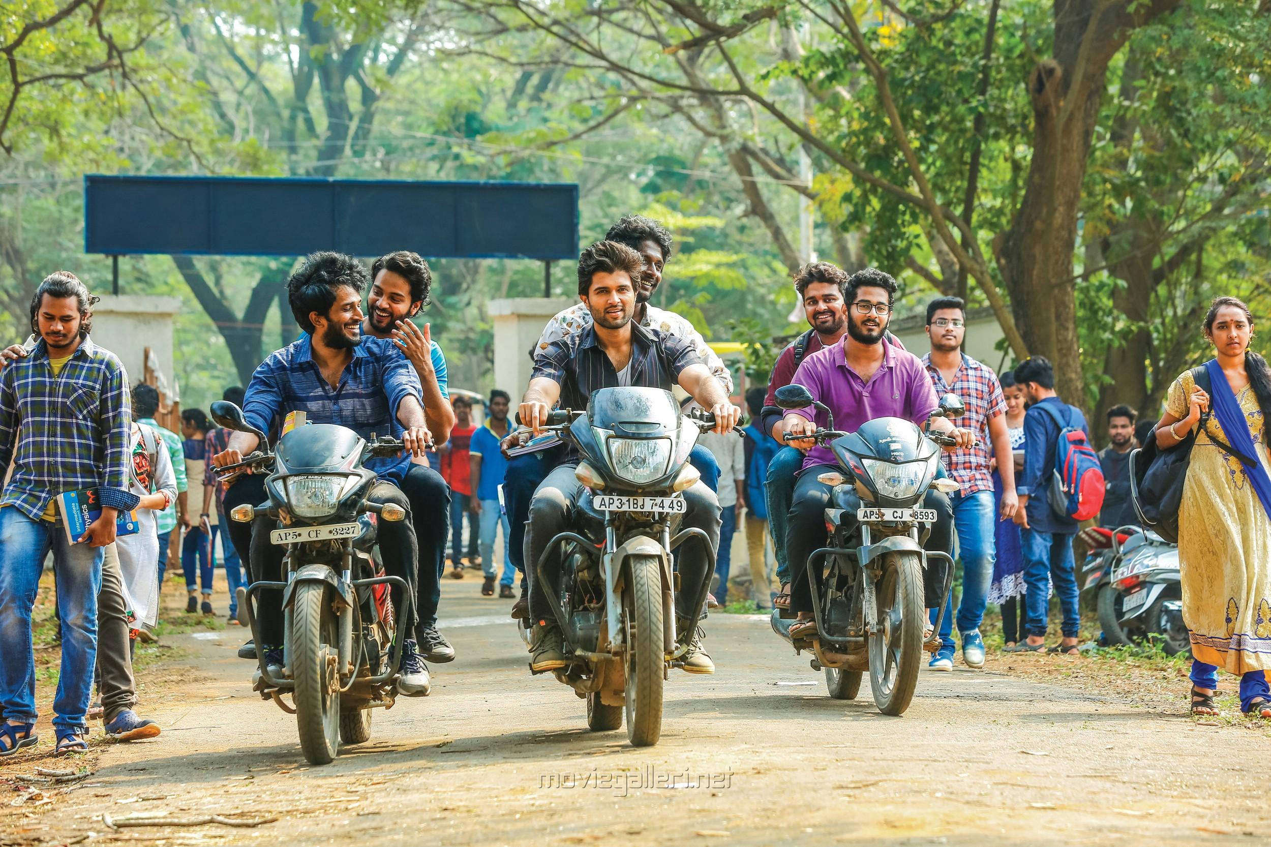 Actor Vijay Devarakonda in Dear Comrade Movie Stills