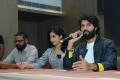 Bharat Kamma, Rashmika Mandanna, Vijay Deverakonda @ Dear Comrade Press Meet at Vizag Photos