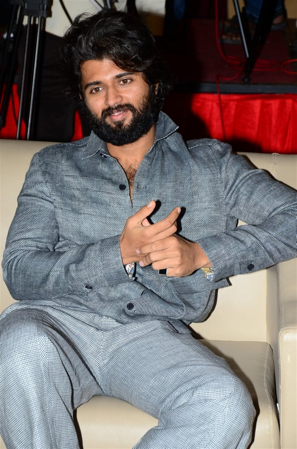 Actor Vijay Deverakonda @ Dear Comrade Movie Trailer Launch Photos