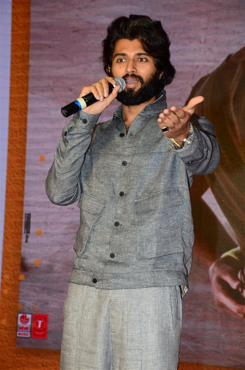 Actor Vijay Deverakonda @ Dear Comrade Movie Trailer Launch Photos