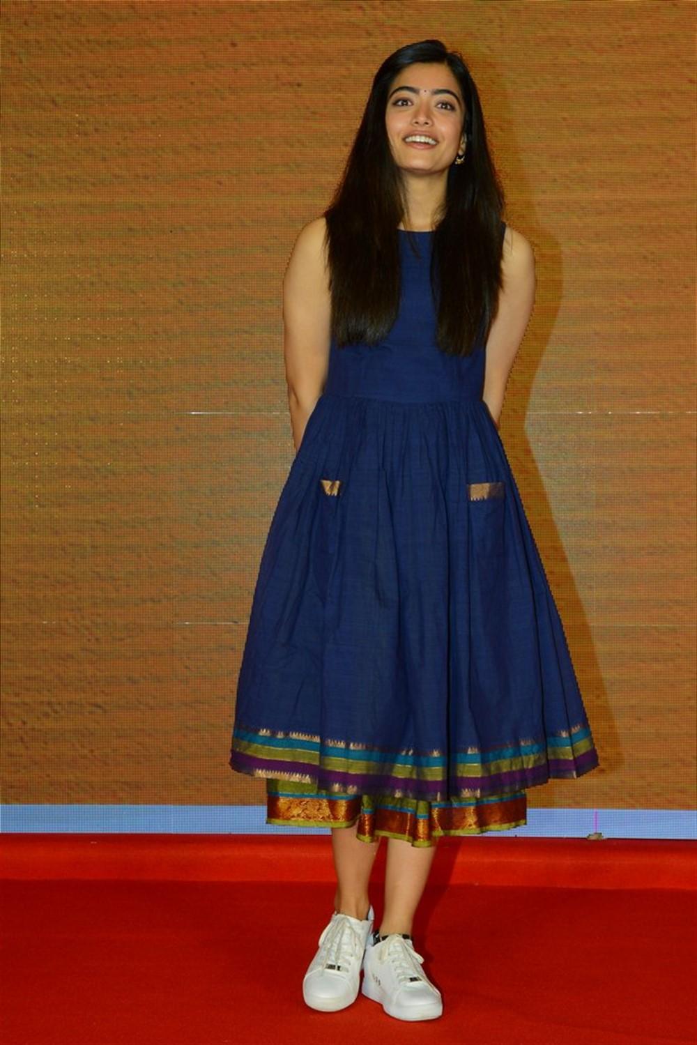 Rashmika Mandanna @ Dear Comrade Movie Trailer Launch Photos
