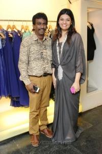 Nikil, Dharshana at December Collection Pret Wear Launch Stills