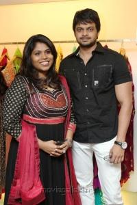 Rejina, Murali at December Collection Pret Wear Launch Stills
