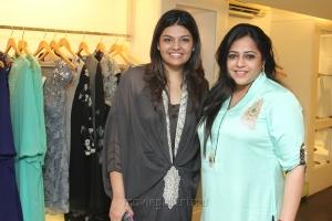 Dharshana, Sabitha Ashrani at December Collection Pret Wear Launch Stills