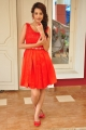 Telugu Actress Deeksha Panth Red Skirt Photos