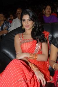 Deeksha Seth Hot Photos in Saree