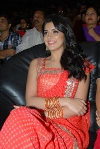 Telugu Actress Deeksha Seth in Saree Hot Photos