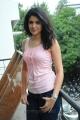 Actress Deeksha Seth Hot Photoshoot Pics in Sleeveless Dress