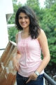 Hot Deeksha Seth in Pink T-Shirt and Blue Jeans