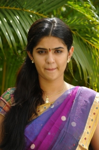Deeksha Seth Langa Voni Dress Stills, Deeksha Seth Hot in Saree Photos