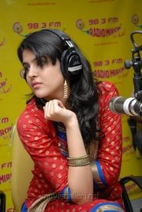 Deeksha Seth at Radio Mirchi FM Stills
