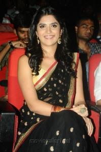 Telugu Actress Deeksha Seth Hot Pictures in Black Saree