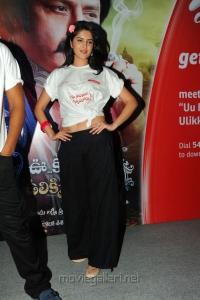 Deeksha Seth in white top at Inorbit Mall for UKUP Promotion stills