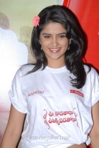 Telugu Actress Deeksha Seth in White T-Shirt Stills