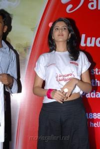 Deeksha Seth in Uu Kodathara Ulikki Padathara Promotional T Shirt