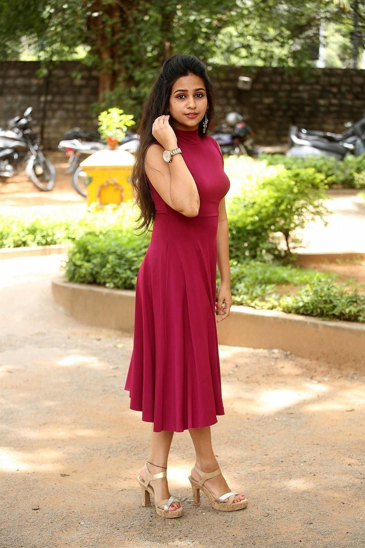 Actress Deekshitha Parvathi Photos @ Nee Kosam Movie Trailer Launch
